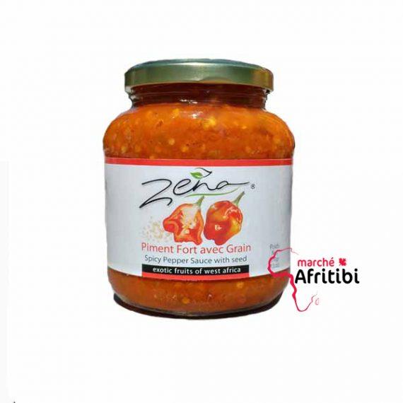 Piment Fort avec Grain - Zena #Afritibi