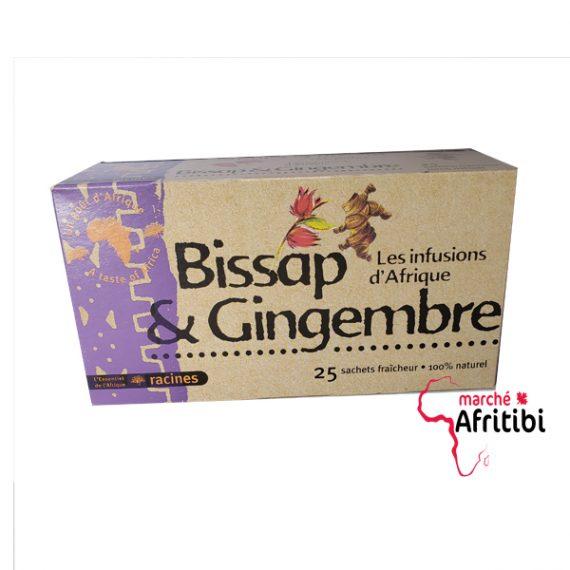 infusion de Bissap & Gingembre #Afritibi