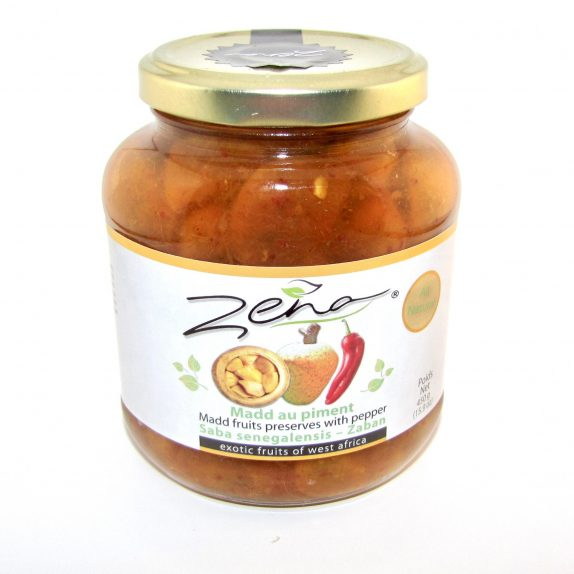 Madd ou Zaban au piment (en conserve)