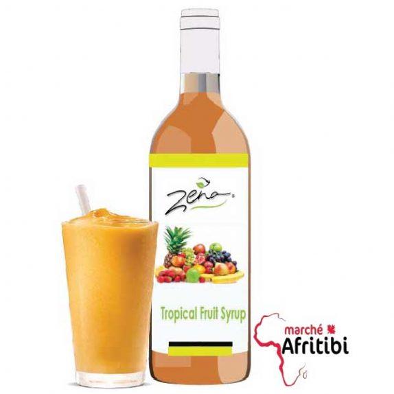Sirop de Cocktail de fruit - Zena #Afritibi