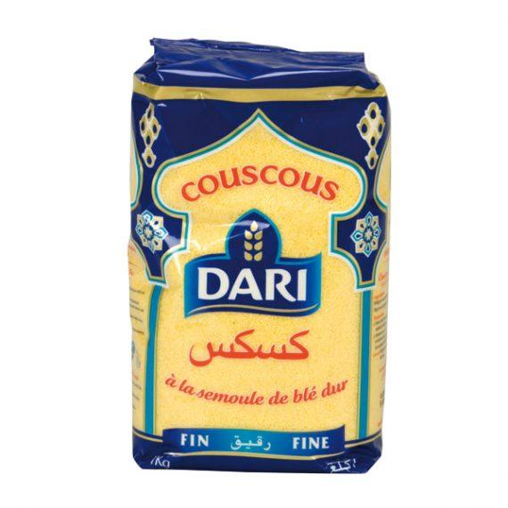 Couscous a la semoule de blé dur - Dari #Afritibi