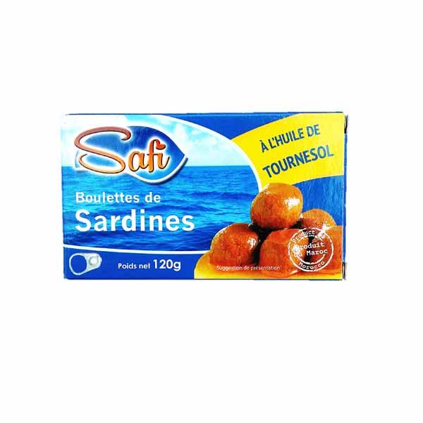 Boulette de sardine a l 39 huile de tournesol picerie africaine march afritibi - Conserve de sardines maison ...
