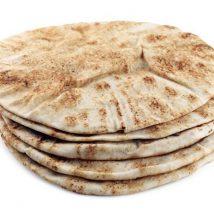 Pain pita - Style Libanais blanc ou blé entier