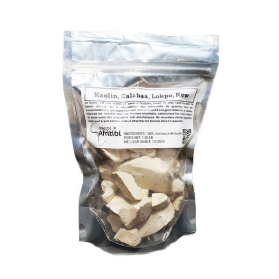 Argile blanche alimentaire
