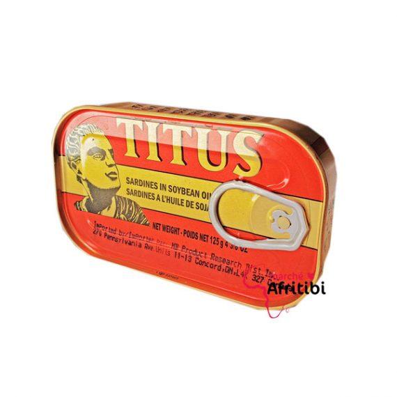 Sardine titus