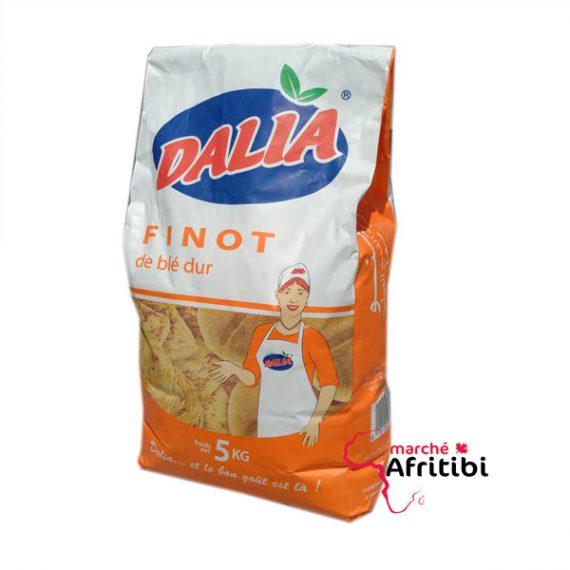 Finot de blé dur - 5KG #Afritibi