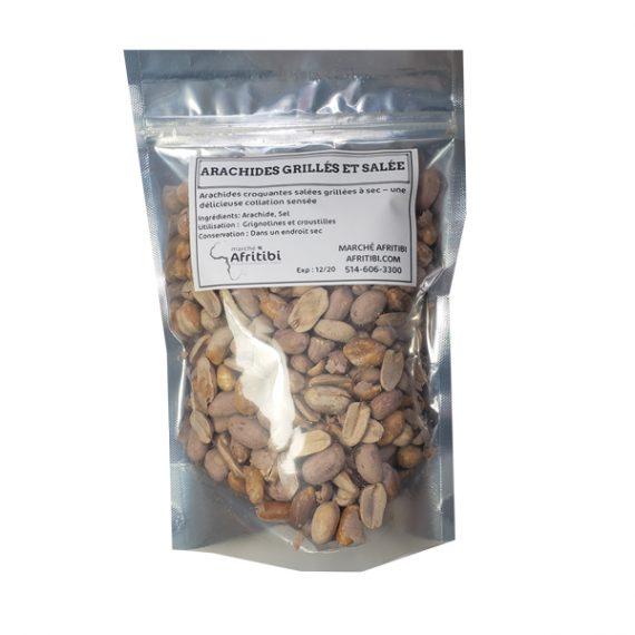 Arachides grillées et salées - AFRITIBI