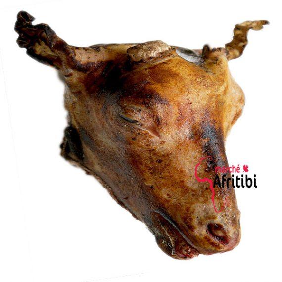 tête de mouton ou d'agneau